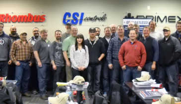 SJE-Rhombus Hosts Feb-brrr-uary Customer Training Event