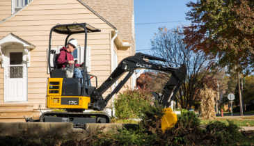 New John Deere Compact Excavators Make a Sizable Impact on the Job Site