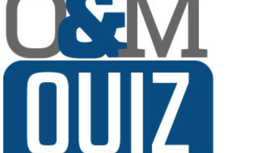 Operations and Maintenance Quiz 1 – Answers