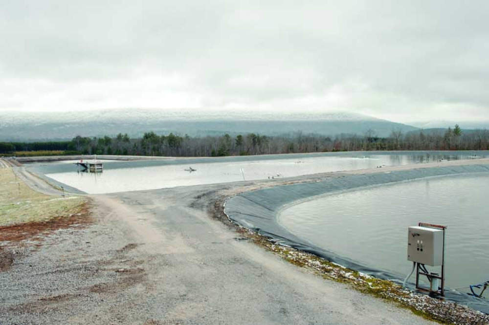 Supersize Me Lagoon And Drip System Will Serve Onsite