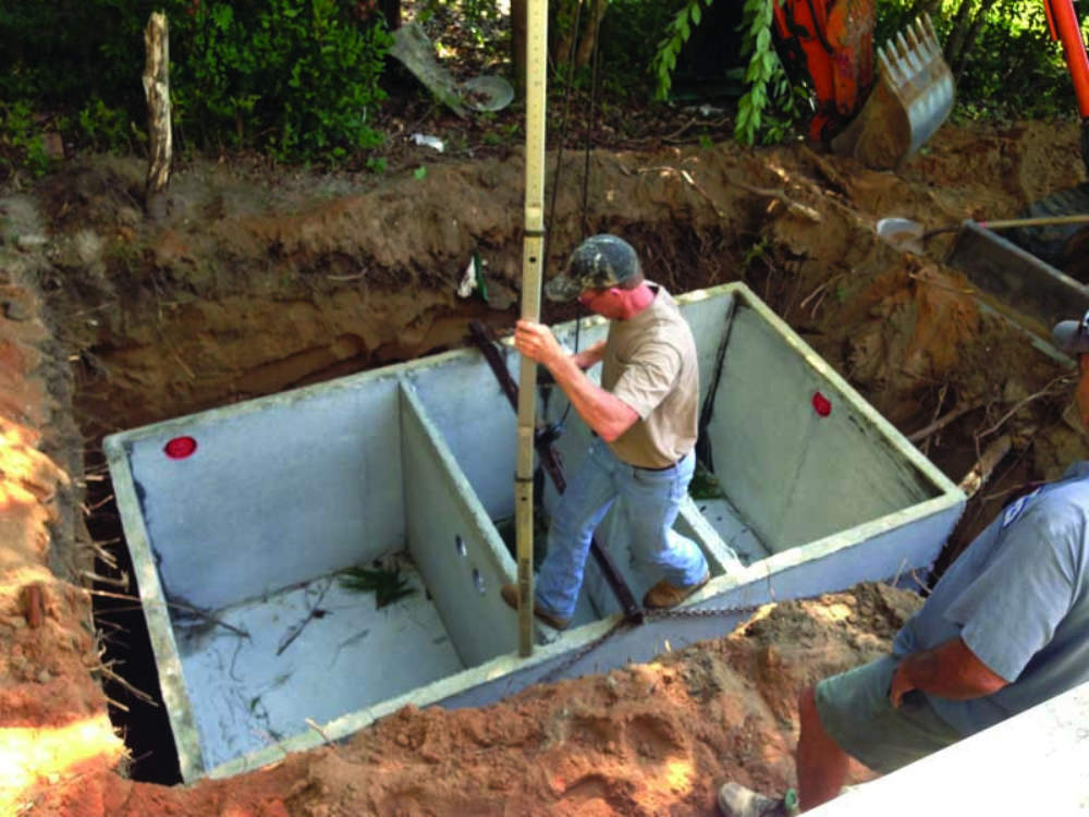 replacing a cottage septic system onsite installer