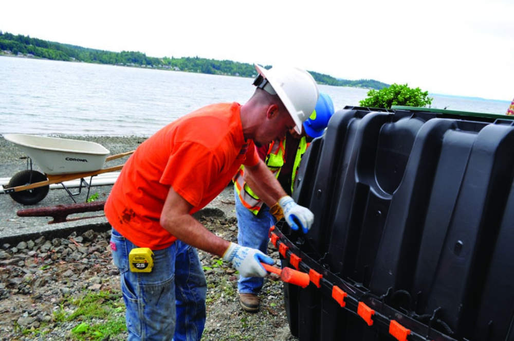 Installer Uses Technology To Place A Septic System
