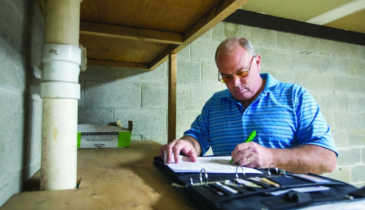 Pennsylvania's Frank Parker Concentrates On Point-Of-Sale Septic Inspections