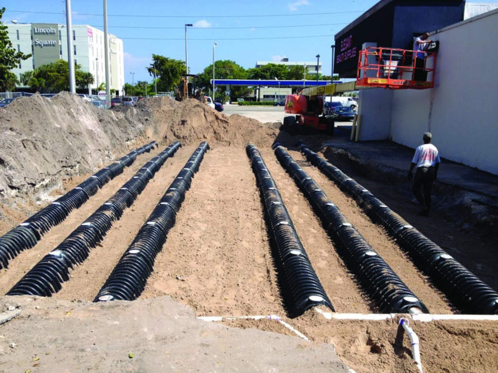 Urban Miami Onsite System Is A Tight Fit | Onsite Installer
