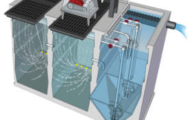 Commercial Treatment Systems - Jet Inc. commercial wastewater treatment plant