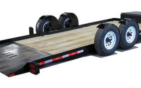 Felling Trailers EZ Tilt Technology