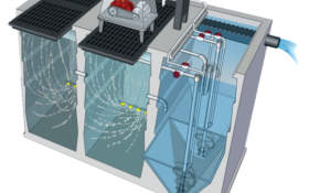 Aerobic Treatment - Jet Inc. commercial wastewater treatment plant