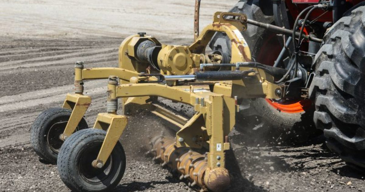 Power Rake Helps Speed Up Site Restoration Efforts