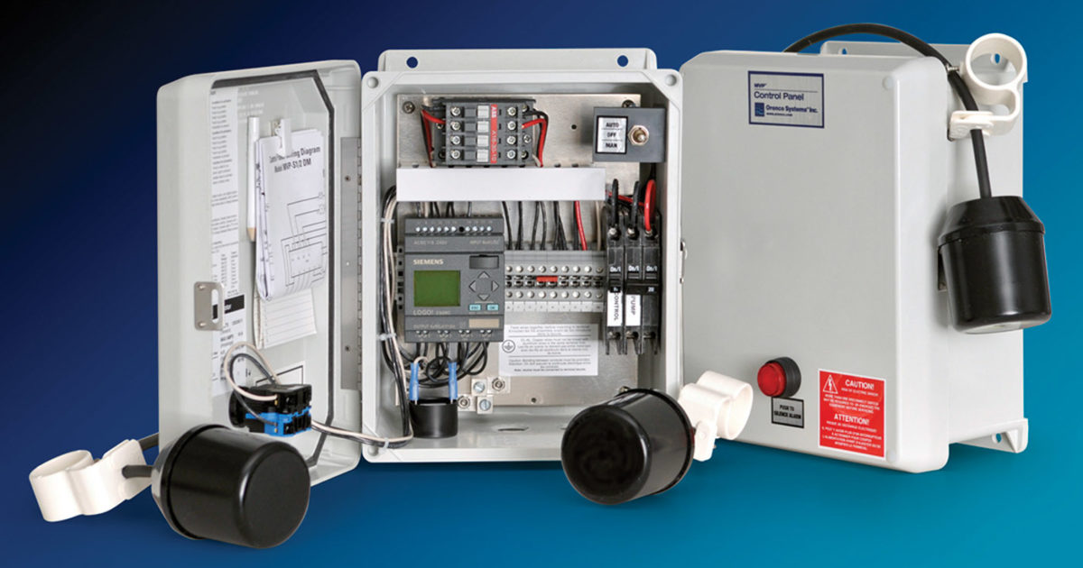 level controls orenco controls 4 in 1 controller onsite  plc panel wiring video schematics online