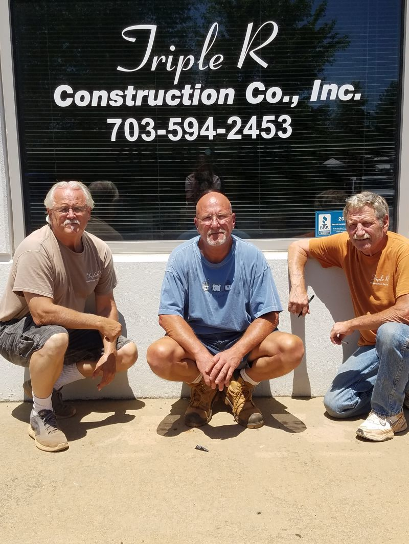 Charlie Seamon (vice president and owner), Ronnie Thomas (principal owner and consultant) and Mark Burns (owner and president)